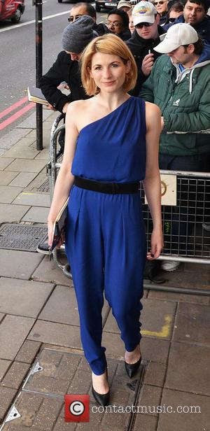 Jodie Whittaker - South Bank Sky Arts awards at Dorchester Hotel - London, United Kingdom - Monday 27th January 2014