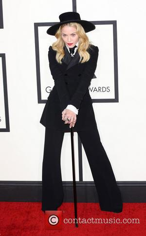 Madonna - The 2014 Grammy Awards held at The Staples Center in Los Angeles - Los Angeles, California, United States...