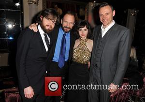 Tom Burke, Ralph Fiennes, Felicity Jones and Zygi Kamasa