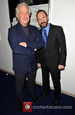 Alan Rickman & Ralph Fiennes - The U.K. premiere of 'The Invisible Woman' held at the Odeon Kensington - Arrivals...