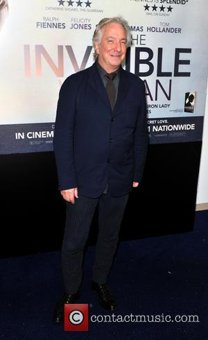 Alan Rickman - The U.K. premiere of 'The Invisible Woman' held at the Odeon Kensington - Arrivals - London, United...