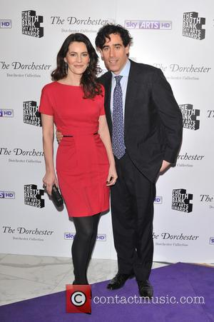 Stephen Mangan and Louise Delamere - The South Bank Sky Arts Awards held at the Dorchester Hotel - Arrivals. -...