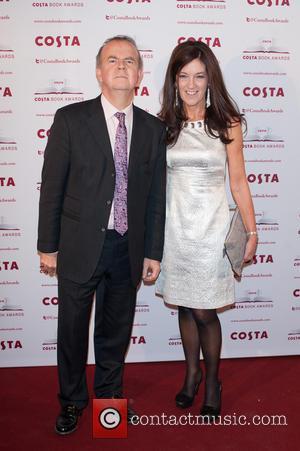 Ian Hislop and Victoria Hislop - 2013 Costa Book Award Winners announcement held at Quadlingo's. - London, United Kingdom -...