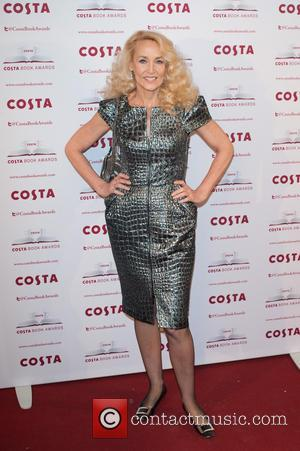 Jerry Hall - 2013 Costa Book Award Winners announcement held at Quadlingo's. - London, United Kingdom - Tuesday 28th January...