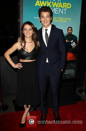 Addison Timlin and Miles Teller