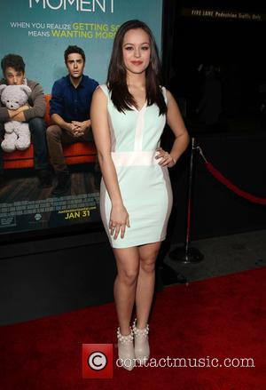 Hayley Orrantia - Premiere Of Focus Features'