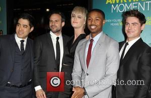 Tom Gormican, Mackenzie Davis, Michael B. Jordan and Zac Efron