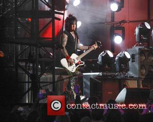 Motley Crue and Nikki Sixx - Motley Crue perform on Jimmy Kimmel Live - Hollywood, California, United States - Tuesday...