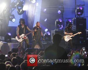 Motley Crue, Vince Neil, Nikki Sixx and Mick Mars