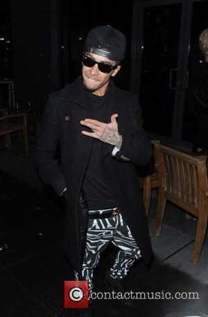 Dappy - Celebrity Big Brother Finalists arrive for their after party at a London Hotel - London, United Kingdom -...