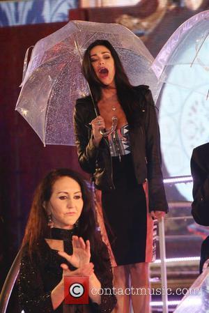 Jasmine Waltz - Celebrity Big Brother Final 2014 - Celebrities leave the Big Brother House - London, United Kingdom -...