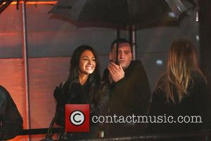 Tulisa Contostavlos and Gareth Varey - Celebrity Big Brother Final 2014, Celebrities leave the Big Brother House - London, United...