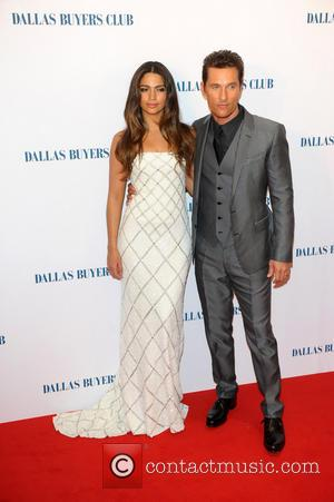 Camila Alves and Matthew Mcconaughey
