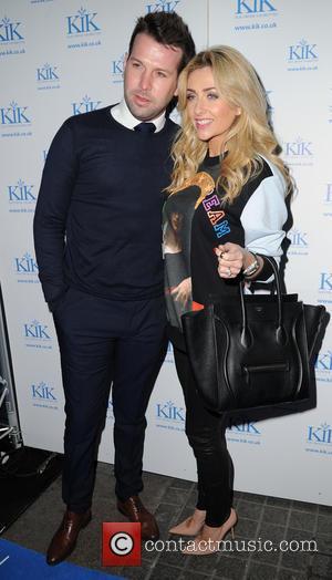 Gemma Merna and Ian Minton - KiK e-cigarettes launch party held at Épernay - Arrivals - Manchester, United Kingdom -...