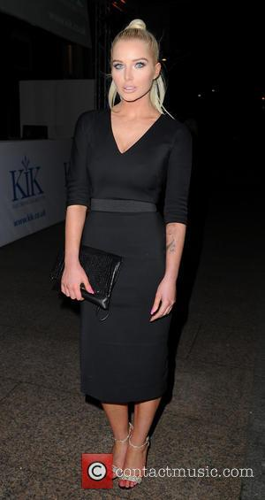 Helen Flanagan - KiK e-cigarettes launch party held at Épernay - Departures - Manchester, United Kingdom - Wednesday 29th January...
