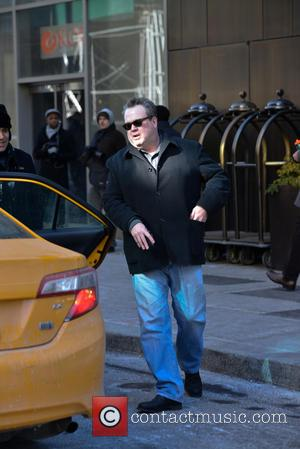 Eric Stonestreet - Eric Stonestreet and his mother in New York - Manhattan, New York, United States - Thursday 30th...