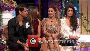 Casey Batchelor, Sam Faiers, Luisa Zissman and Ollie Locke - Celebrity Big Brother's Bit On The Side, shown on Channel...