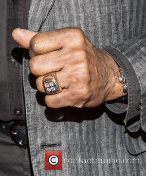 Lynn Swan's Super Bowl Ring with 4 diamonds representing 4 SuperBowl Victories - Sports Illustrated MVP Night honoring some of...