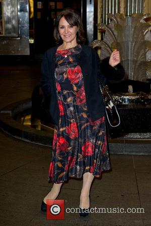 Arlene Phillips - Kate Moss photo exhibition at the Savoy - Arrivals - London, United Kingdom - Thursday 30th January...