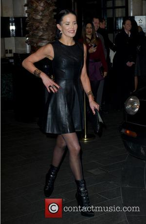Sophie Anderton - Kate Moss photo exhibition at the Savoy - Arrivals - London, United Kingdom - Thursday 30th January...