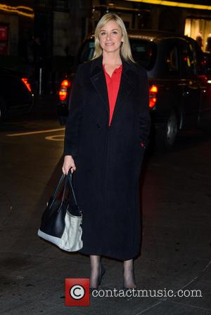 Tamzin Outhwaite - Kate Moss photo exhibition at the Savoy - Arrivals - London, United Kingdom - Thursday 30th January...