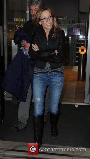 Sheryl Crow - Celebrities at the ITV studios - London, United Kingdom - Friday 31st January 2014