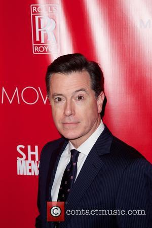 Stephen Colbert - SHAPE and Men's Fitness Super Bowl Concert Dinner Party at Cipriani in New York City - New...