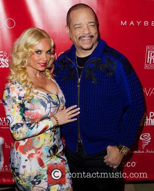 Coco Austin and Ice T - SHAPE and Men's Fitness Super Bowl Concert Dinner Party at Cipriani in New York...