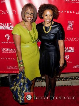 Gayle King - SHAPE and Men's Fitness Super Bowl Concert Dinner Party at Cipriani in New York City - New...