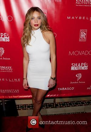 Hannah Davis - SHAPE and Men's Fitness Super Bowl Concert Dinner Party at Cipriani in New York City - New...