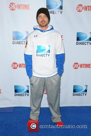 Aaron Paul - DirecTV's 8th Annual Celebrity Beach Bowl held at Pier 40 - Arrivals - New York City, New...