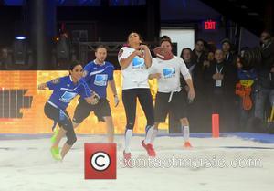 Nina Dobrev - DirecTV's 8th Annual Celebrity Beach Bowl held at Pier 40 - Football Game - New York City,...