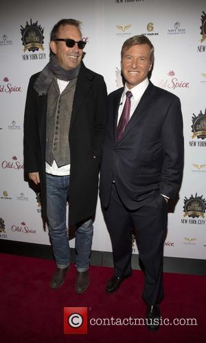 Kevin Costner and Leigh Steinberg - The Leigh Steinberg Super Bowl XLVIII party - Arrivals - New York, New York,...