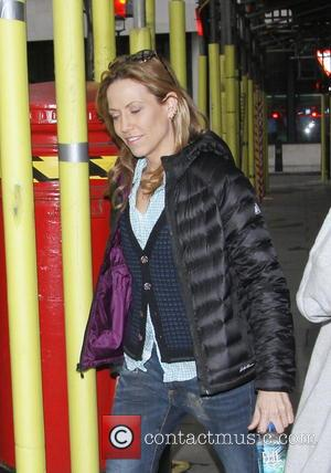Sheryl Crow - American country artist singer Sheryl Crow exits BBC Radio 2 in London - London, United Kingdom -...