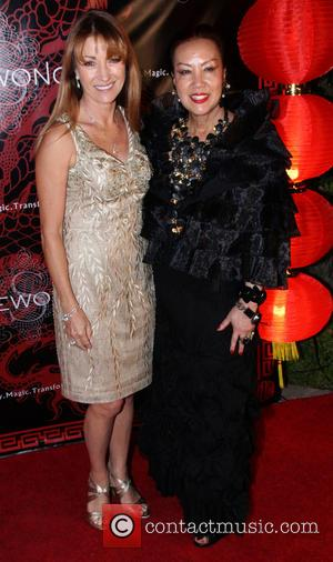 Jane Seymour and Sue Wong - Sue Wong hosts a party to celebrate the Chinese new year of the horse...