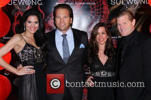 Joyce Giraud and Michael Ohoven - Sue Wong hosts a party to celebrate the Chinese new year of the horse...