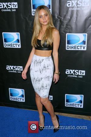 Hannah Davis - DirecTV Super Saturday Night - Red Carpet Arrivals - Manhattan, New York, United States - Saturday 1st...