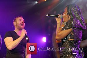 Kevin Simm, Kelli Young and Liberty X
