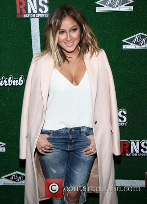 Adrienne Bailon - Airbnb and Roc Nation sports celebration at 40/40 Club - New York, United States - Saturday 1st...