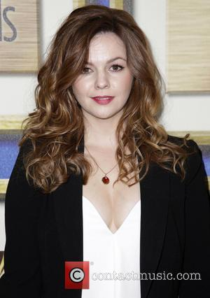 Amber Tamblyn - 66th Annual Writer's Guild Awards Los Angeles Ceremony at JW Marriott - Arrivals - Los Angeles, California,...