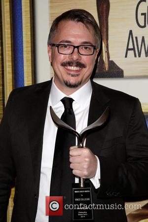 Vince Gilligan - WGA winners pose at 2014 Writers Guild Awards Press room at JW Marriott Los Angeles L.A. LIVE....