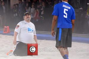 Artie Lange - DirecTV's 8th Annual Celebrity Beach Bowl held at Pier 40 - Football Game - New York City,...