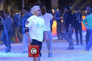 Guy Fieri - DirecTV's 8th Annual Celebrity Beach Bowl held at Pier 40 - Football Game - New York City,...
