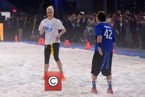 Ireland Baldwin - DirecTV's 8th Annual Celebrity Beach Bowl held at Pier 40 - Football Game - New York City,...