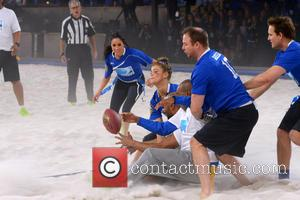 Meghan Markle, Nina Agdal and Ryen Rusillo - DirecTV's 8th Annual Celebrity Beach Bowl held at Pier 40 - Football...