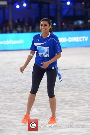 Shay Mitchell - DirecTV's 8th Annual Celebrity Beach Bowl held at Pier 40 - Football Game - New York City,...