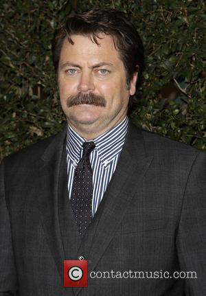 Nick Offerman - 66th Annual Writer's Guild Awards Los Angeles Ceremony at JW Marriott - Arrivals - Los Angeles, California,...