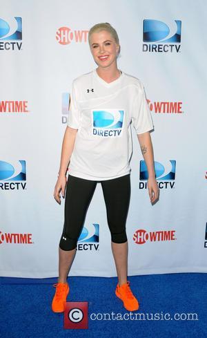 Ireland Baldwin - DirecTV's 8th Annual Celebrity Beach Bowl held at Pier 40 - Arrivals - New York City, New...