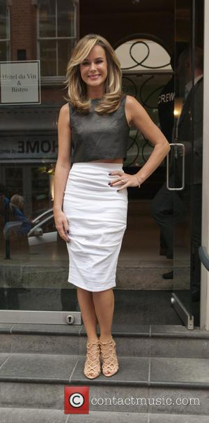 Amanda Holden - Amanda Holden leaves her hotel for the Britain's Got Talent auditions in Birmingham on Day 3 -...