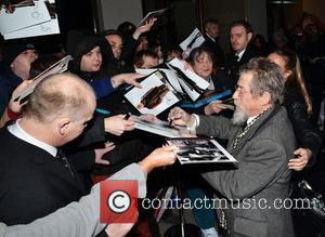 John Hurt - The London Critics' Circle Film Awards held at The May Fair Hotel - Outside Arrivals - London,...